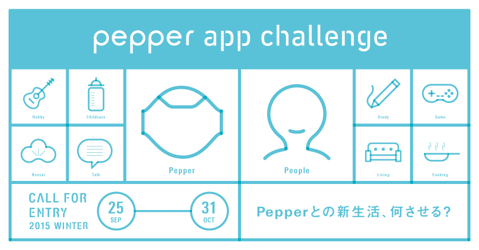 Pepper App Challenge 2015 Winter