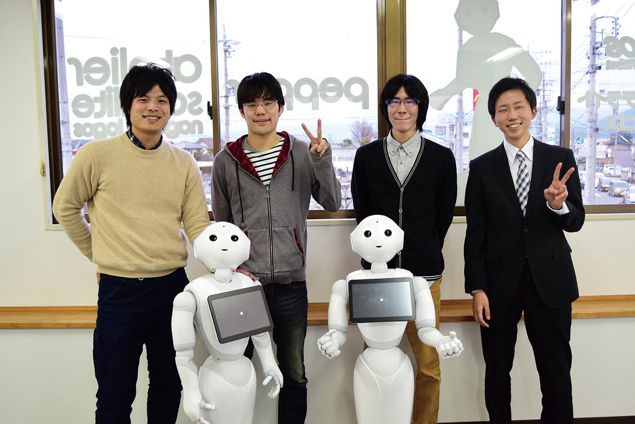 アトリエサテライト長野ロゴス 3月12日開催ワークショップ 集合写真
