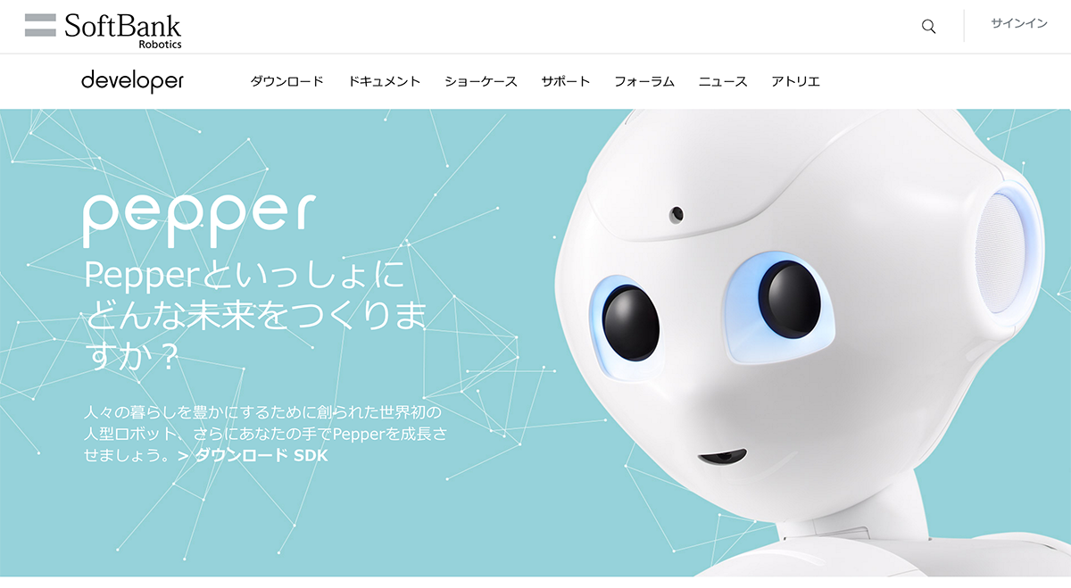 Pepper Developer Portal