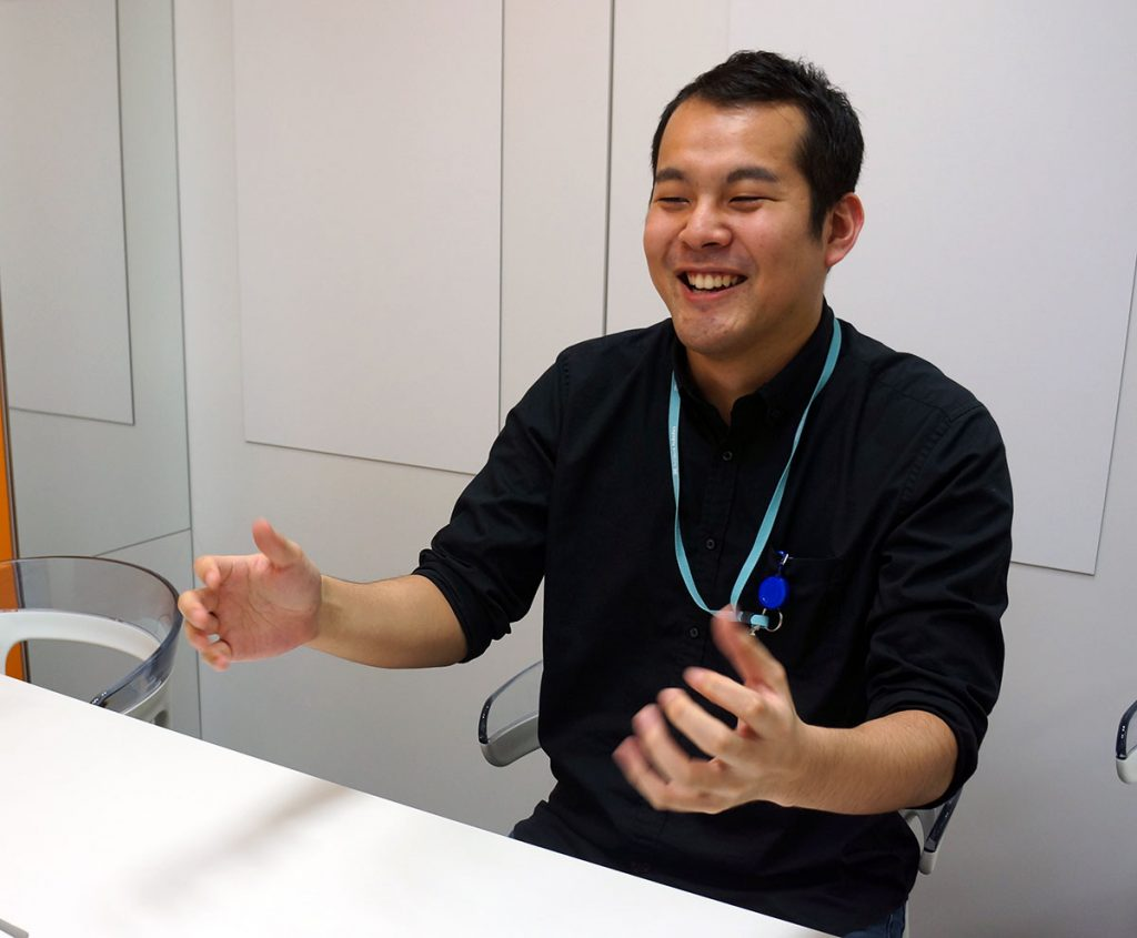 ソフトバンクロボティクス 佐藤 大祐さん